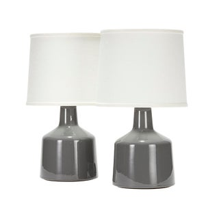 Martin Lamp in Reykjavik Glaze - a Pair For Sale