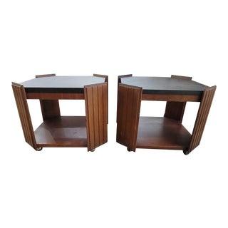 Vintage Lane Altavista Mid-Century Side Tables - a Pair For Sale