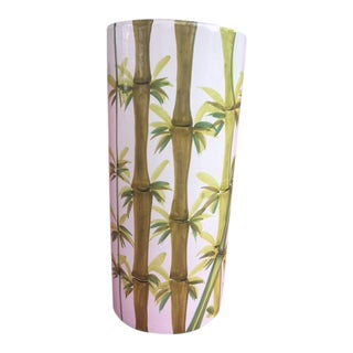 Palm Beach Inspired Umbrella Stand For Sale