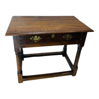 MId 19th Century English Wood Table For Sale