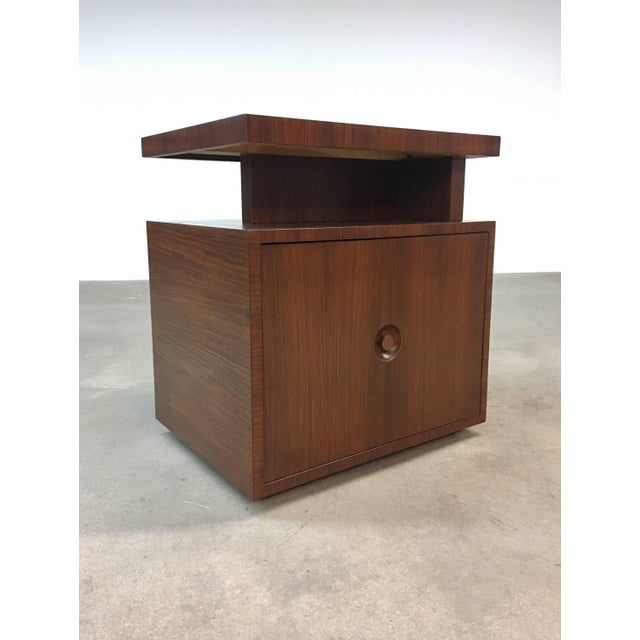 Pair of Andrew Szoeke End Tables in Rosewood For Sale - Image 5 of 9