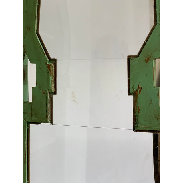 19th Century Spanish Green Pharmacy Cabinet For Sale - Image 11 of 12