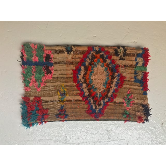Vintage Moroccan Wool Pillow - Image 2 of 10