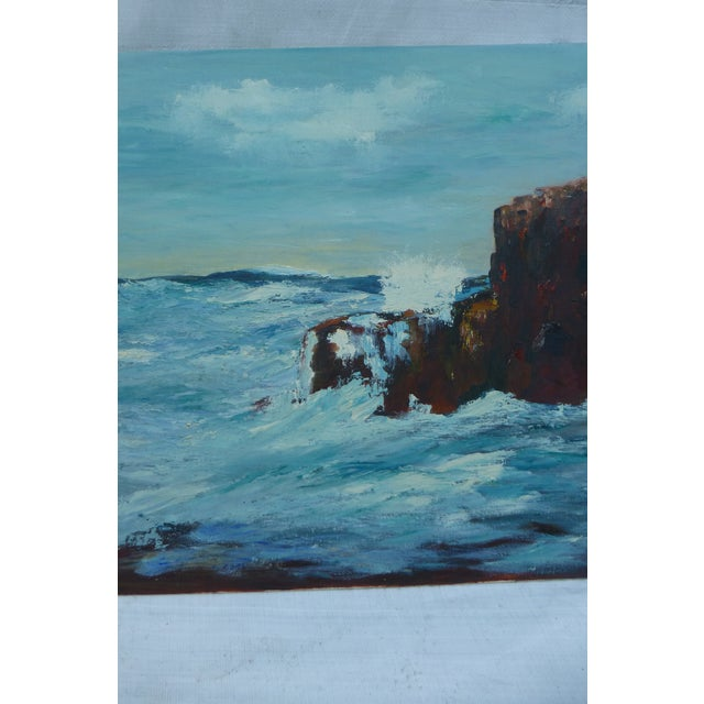 MCM Painting of Turbulent Waves h.l. Musgrave - Image 4 of 6