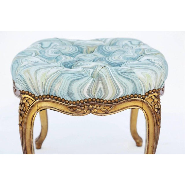 Louis XV 19th Century Louis XV Giltwood Bench For Sale - Image 3 of 7