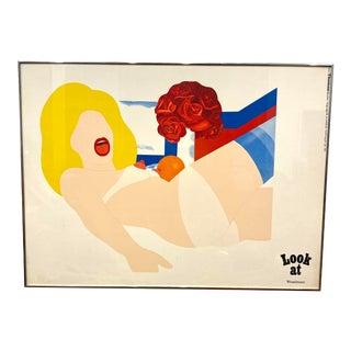 Tom Wesselman Framed Gallery Poster For Sale