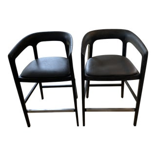 Interlude Home Counter Stools - a Pair For Sale