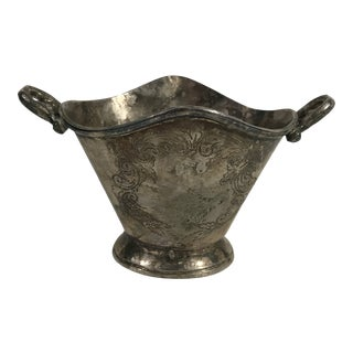 Antique Silver Cachepot For Sale