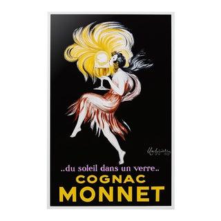 """Decorative Wall Enamel Sign Leonetto Cappiello """"Cognac Monnet"""" For Sale"""