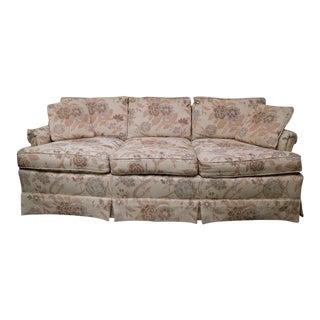 1980s Lexington Furniture Floral Patterned Upholstered Sofa