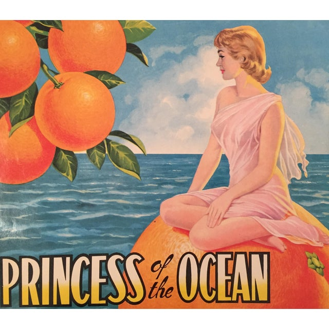 1930s Vintage Spanish Label, Princess - Image 2 of 2