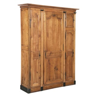 Early 19th Century Neoclassical Fruitwood Cabinet For Sale