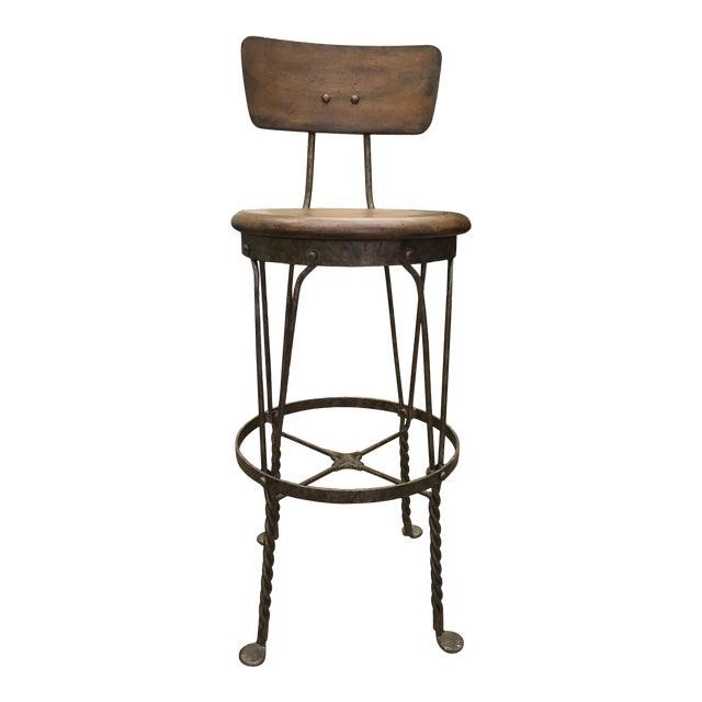 Stanley Furniture Artisans Apprentice Barstool - Image 1 of 7