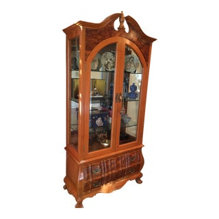 Early 20th Century Display Cabinet For Sale