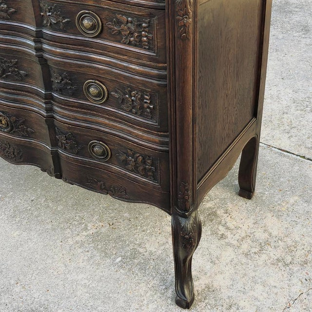 Antique Country French Commode For Sale In Dallas - Image 6 of 10