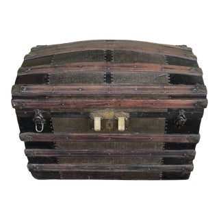 Mid 18th Century Steamer Trunk For Sale