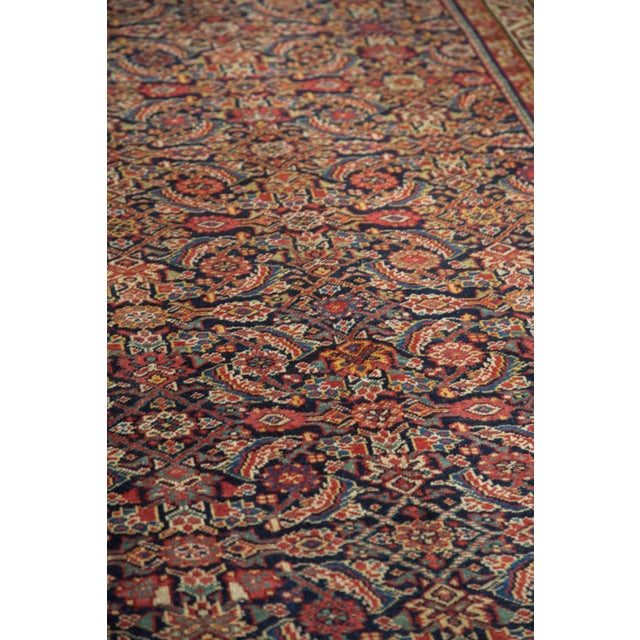 "Antique Malayer Rug Runner - 5'2"" X 9'9"" - Image 6 of 10"