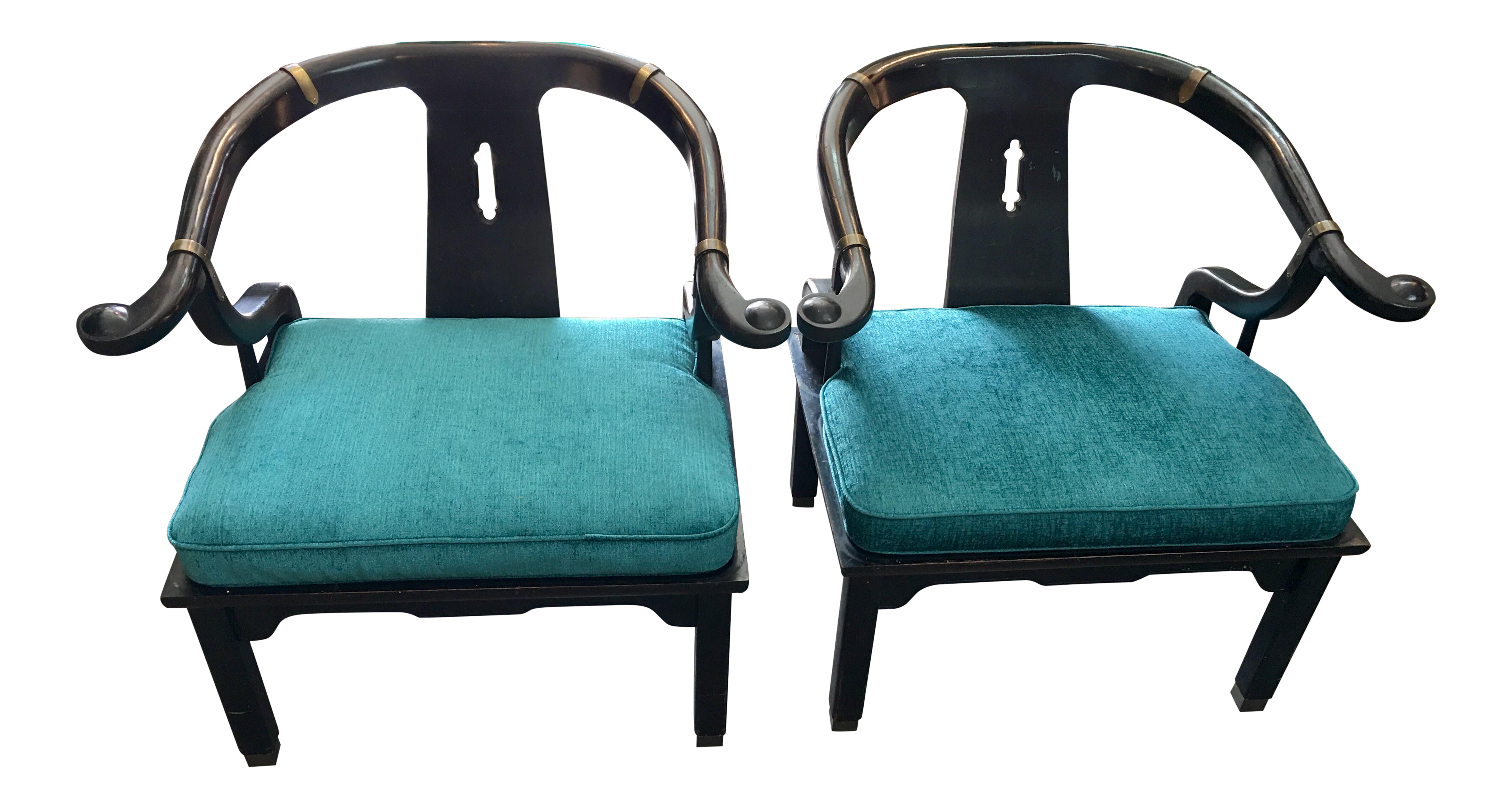 James Mont For Century Ming Chair   A Pair