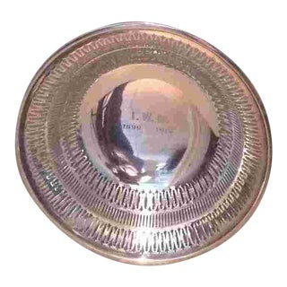 American C.1915 Sterling Centerbowl by Gorham For Sale