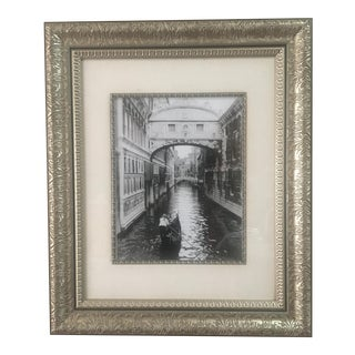 Framed Bridge of Sighs Art Print by Cyndi Schick For Sale