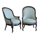 Image of Antique French Side Chairs - a Pair For Sale