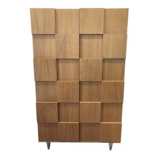 Custom Splinter Wood Wardrobe For Sale