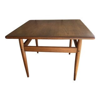1960s Mid Century Modern Trioh Teak Coffee Table For Sale