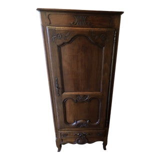 Early 19th Century French Oak Armoire For Sale