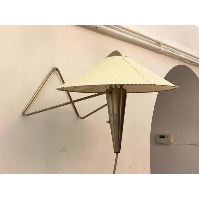 Mid-Century Modern Czech Modernist Table Lamp by Helena Frantova for Okolo, 1950s For Sale - Image 3 of 11