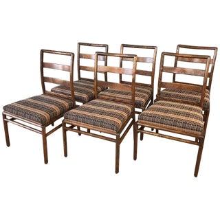 T.H. Robsjohn-Gibbings for Widdicomb Maple Dining Chairs - Set of 6 For Sale