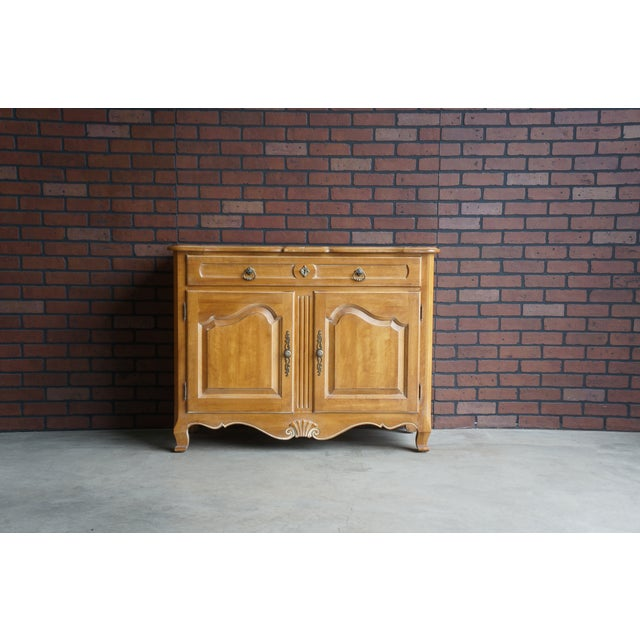 Ethan Allen Country French Server For Sale - Image 11 of 11