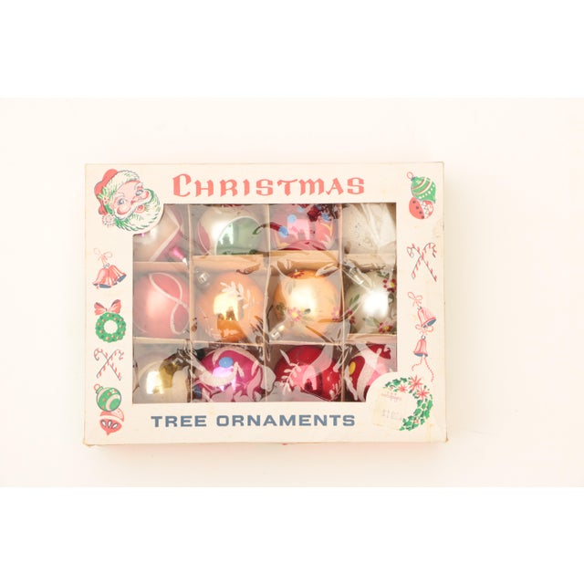 Miniature Blown Glass Christmas Ornaments - Set of 12 For Sale - Image 4 of 6