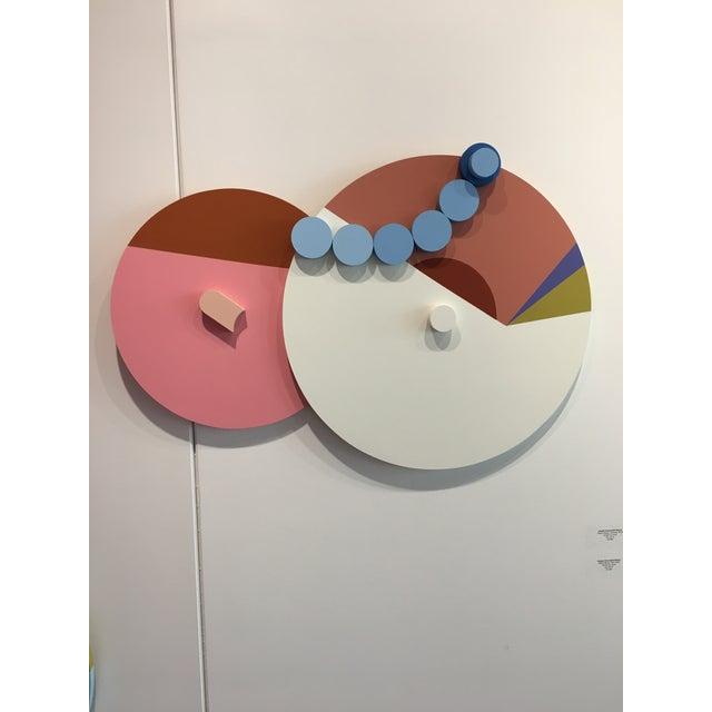 Angela Chrusciaki Blehm Angela Chrusciaki Blehm Peek-A-Boob Caramel Wall Sculpture For Sale - Image 4 of 6