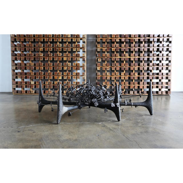 Mid-Century Modern Daniel Gluck Sculptural Coffee Table Circa 1970 For Sale - Image 3 of 12