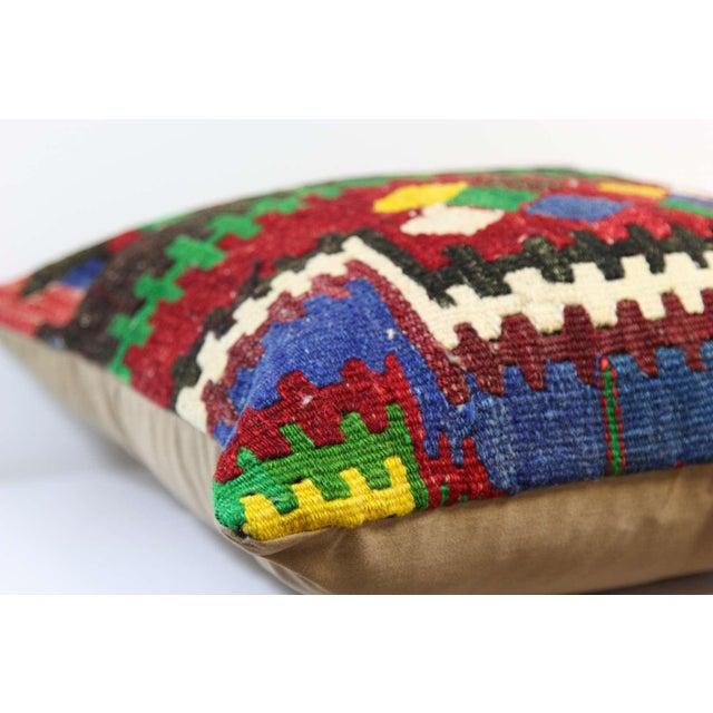 Handmade Kilim Pillowcase - Image 5 of 5