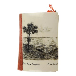 Lone Palm Bermuda Needle Sewing Case For Sale