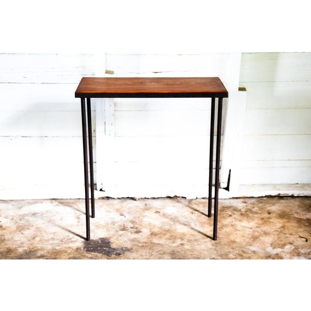 Mid-Century Modern Hand-Bag Entry Table For Sale - Image 9 of 12