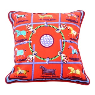 Royal Horses Pillow Cover For Sale
