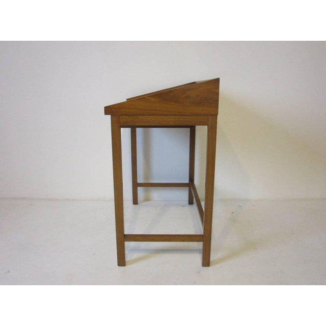 Mid-Century Modern Rare Dunbar Small Vanity or Makeup Table by Edward Wormley For Sale - Image 3 of 8