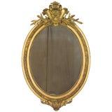 Image of 19th Century Napoleon III Gilded Mirror For Sale