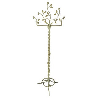 Large Italian Iron Floral and Leaf Design Store Display For Sale
