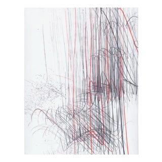 "Jaanika Peerna ""Screech of Ice Series 43"", Drawing For Sale"