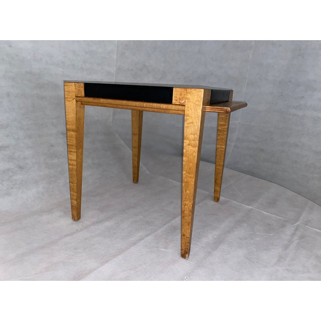Black 19th Century Biedermeier Occasional Table For Sale - Image 8 of 8