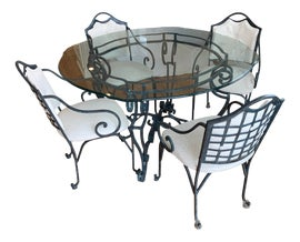 Image of Wrought Iron Dining Sets