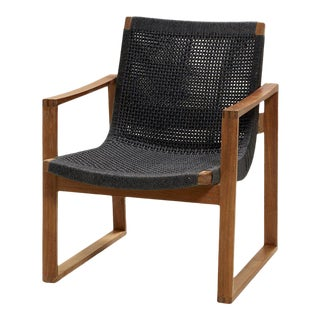 Cane-Line Endless Lounge Chair For Sale