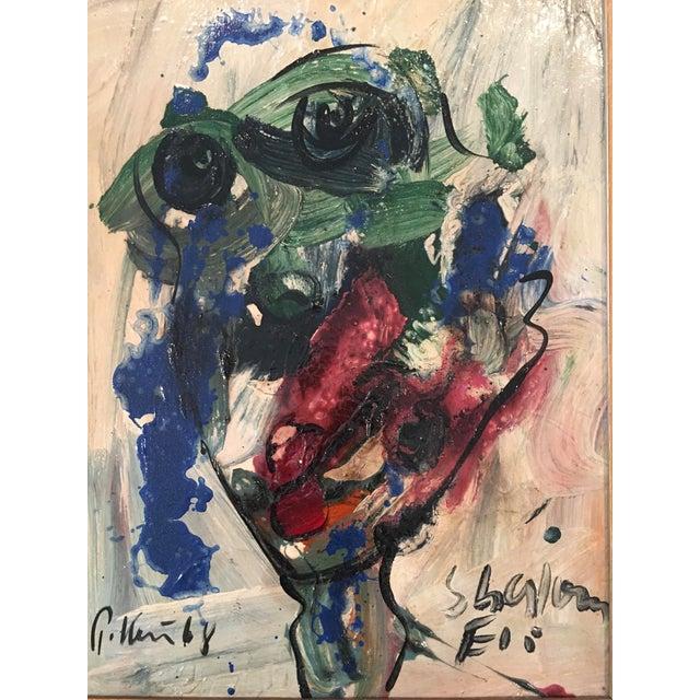 'My Friend Miro' Painting - Image 3 of 11