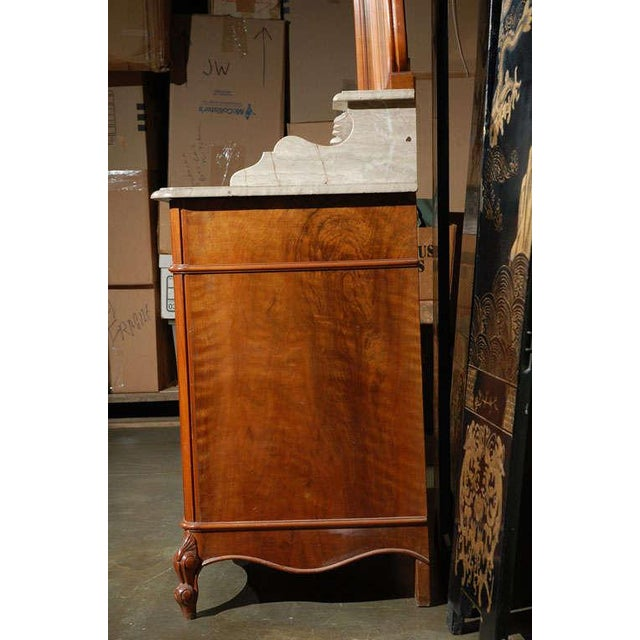 Marble Top Commode with Mirrors For Sale In Los Angeles - Image 6 of 10