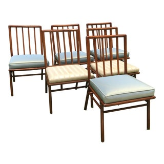 T. H. Robsjohn Gibbings for Widdicomb Dining Chairs - Set of 6 For Sale