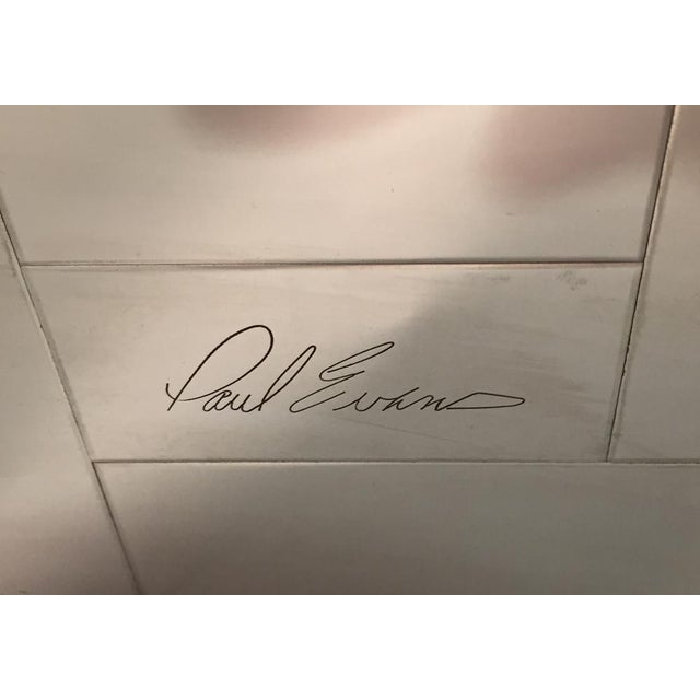 """PAUL EVANS """"CITYSCAPE"""" WALL-MOUNTED CABINET - Image 7 of 7"""