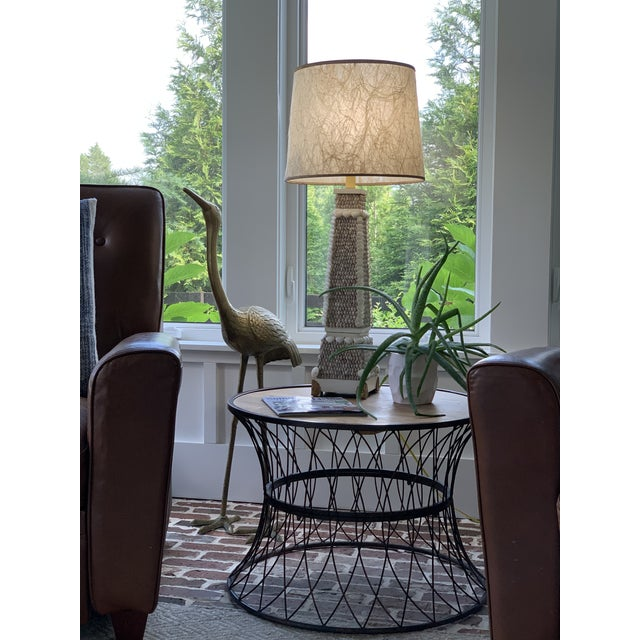 The Crane is a symbol of Longevity! MId-Century Modern brass etched crane that looks great in any setting! Look at the...